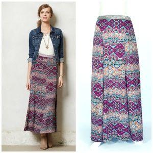 Anthropologie Vanessa Virginia Rani Maxi Skirt